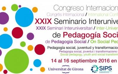 Congrés de Pedagogia Social. Tots els continguts.